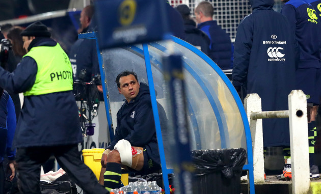 Isa Nacewa injured