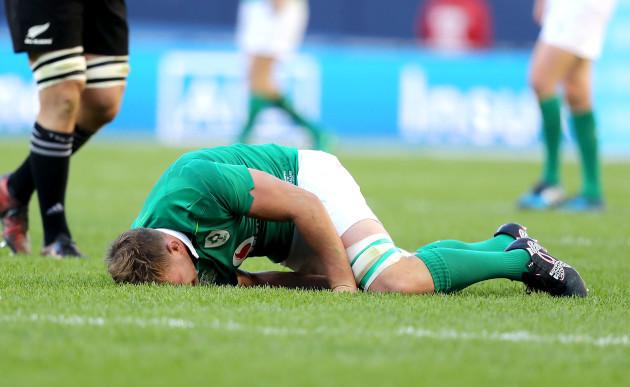 Jordi Murphy down injured