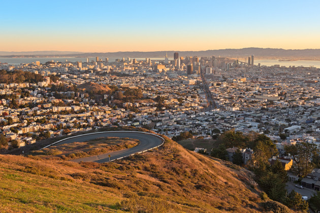San Francisco Sunrise - HDR
