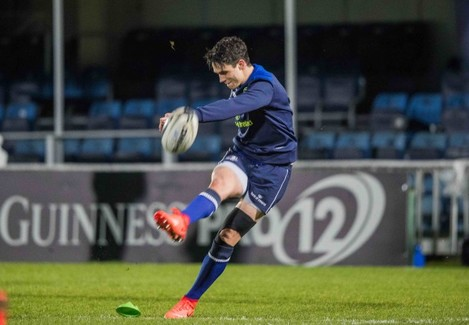 Joey Carbery before the game