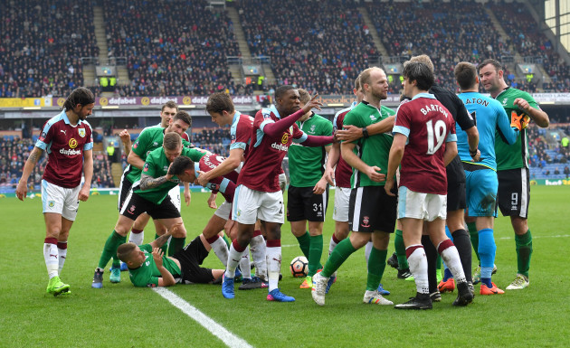 Burnley v Lincoln City - Emirates FA Cup - Fifth Round - Turf Moor