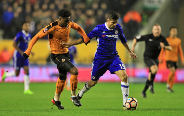 Wolverhampton Wanderers v Chelsea - Emirates FA Cup - Fifth Round - Molineux