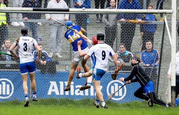 John McGrath scores his side a goal