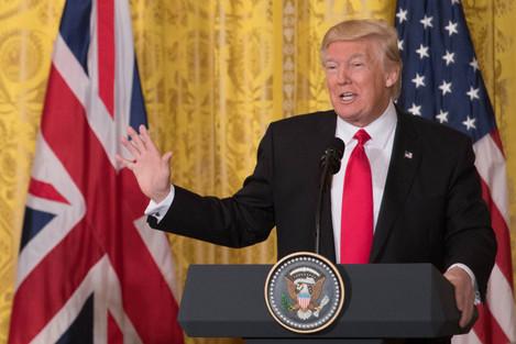 Trump visit to UK