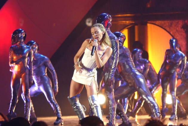 Brits 2002 Kylie Minogue