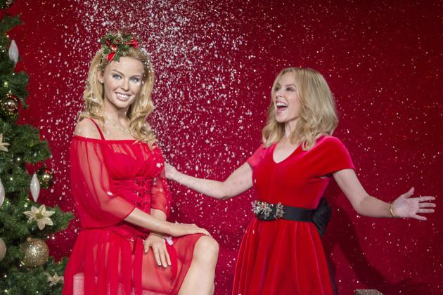 Kylie Minogue waxwork at Madame Tussauds - London