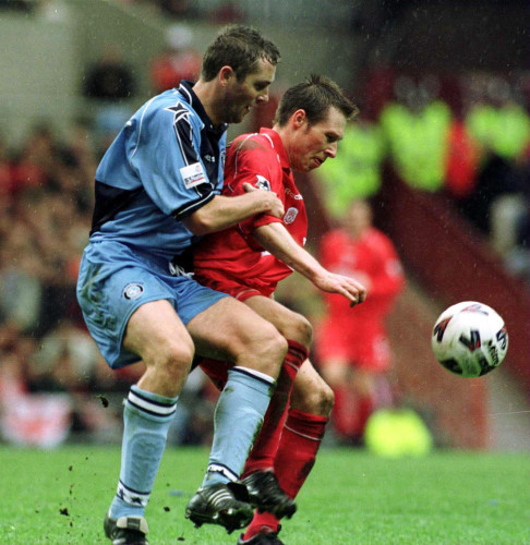 Paul McCarthy and Nick Barmby 8/4/2001