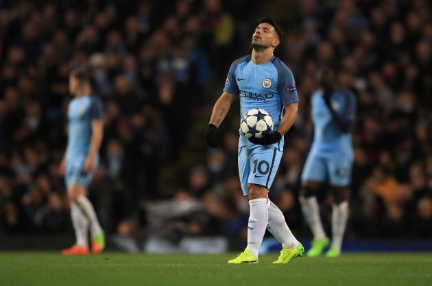 Manchester City v AS Monaco FC - UEFA Champions League - Round of 16 - First Leg - Etihad Stadium