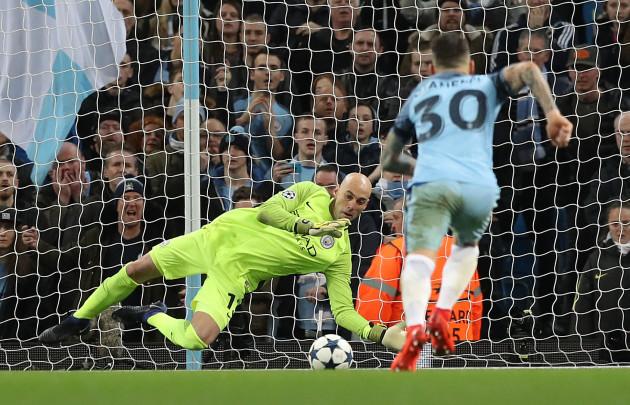 Manchester City v AS Monaco - UEFA Champions League - Round of 16 - First Leg - Etihad Stadium