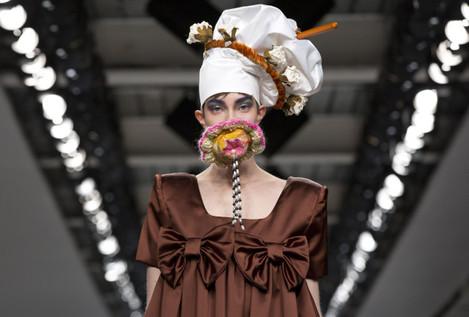 Central Saint Martins Catwalk - London Fashion Week 2017