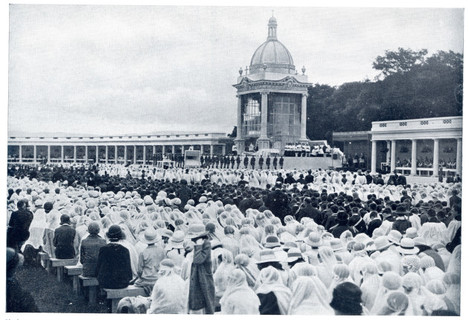 Near the High Altar in the Phoenix Park on Children's Day