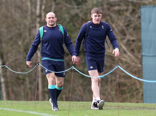 Rory Best and Garry Ringrose