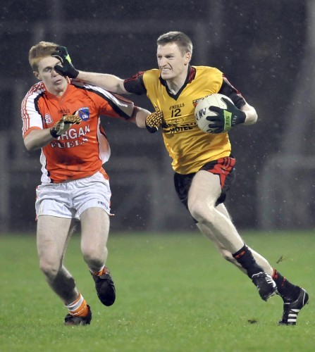 Jamie O'Reilly holds off Mark McConville