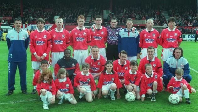 Shelbourne Team FAI Cup Final 4/5/1997