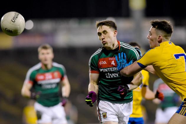 John McManus tackles Paddy Durcan