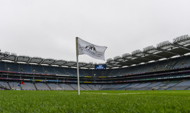 A general view of Croke Park ahead of today's games