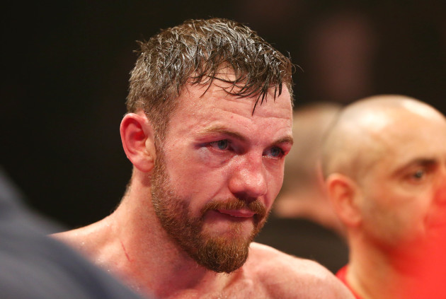 A dejected Andy Lee