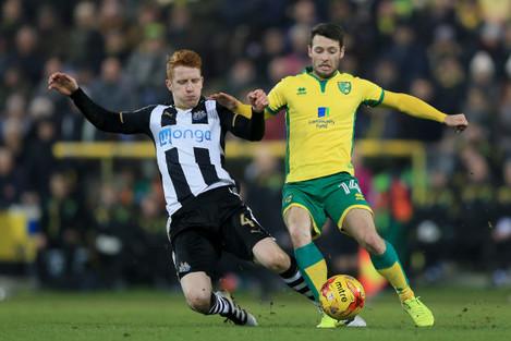 Norwich City v Newcastle United - Sky Bet Championship - Carrow Road