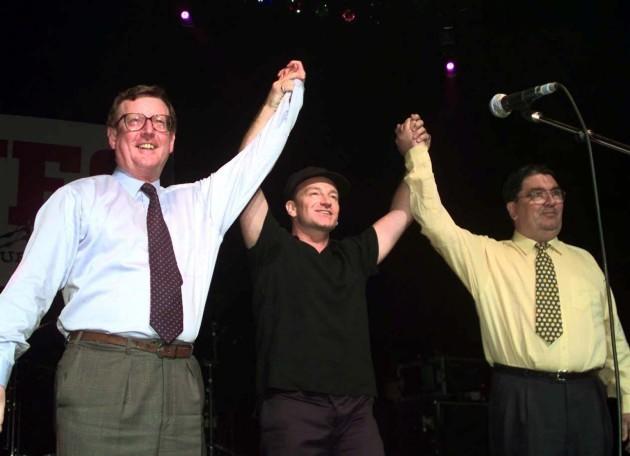 Concert Bono/Trimble/Hume