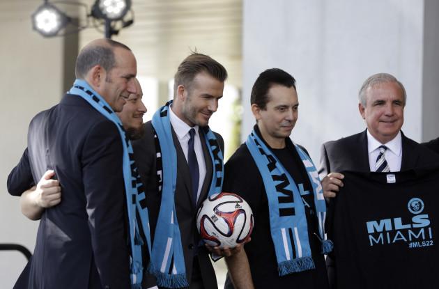 Beckham MLS Soccer