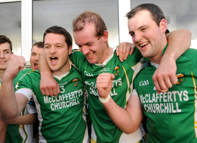 Barry Canning, Neil Gallagher and Michael Murphy