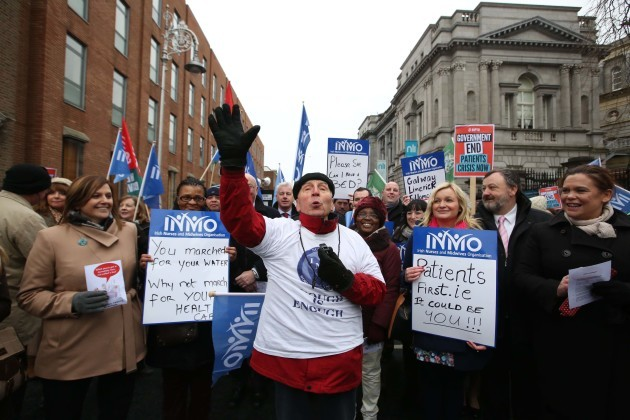 File Photo NMO members have voted 925 in favour to back strike action over emergency department overcrowding.  The union will serve formal strike notice on the HSE  and all health employers today and the campaign of industrial action which will involve