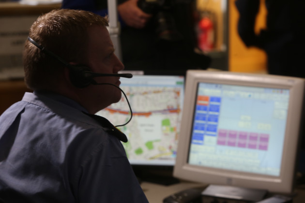 Garda Command & Control Centre.
