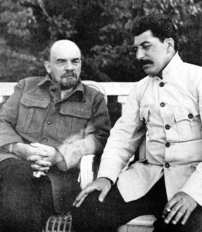 File:Lenin and stalin crop.jpg - Wikimedia Commons
