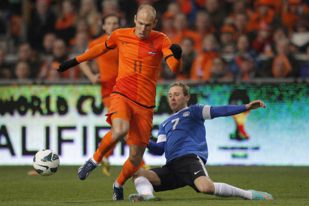 Netherlands Soccer Wcup Estonia
