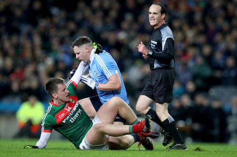 Philly McMahon and Cillian O'Connor