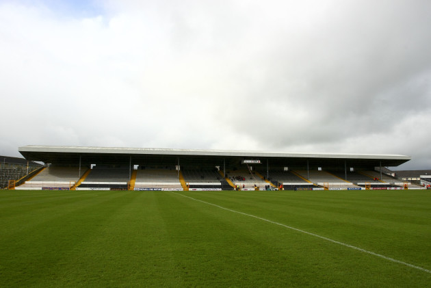 A general view of Nowlan Park