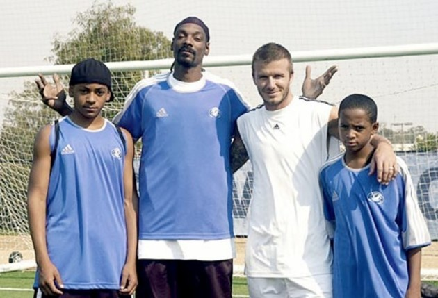 A complete history of David Beckham and Snoop Dogg's