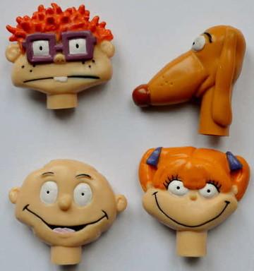 1995-Ricicles-Rugrats-Pencil-Top