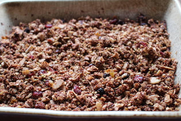 Quinoa and buckwheat Granola (2)