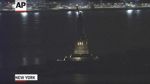 Statue of Liberty Lights