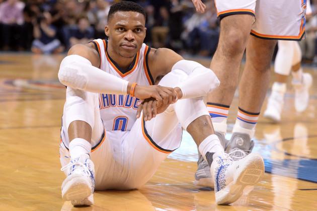 NBA: Portland Trail Blazers at Oklahoma City Thunder