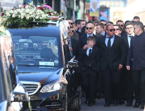 David Byrne funeral