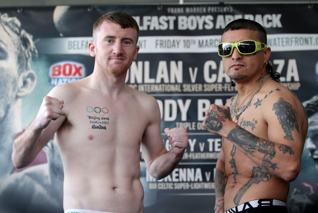 Paddy Barnes and Adrian Dimas Garzon