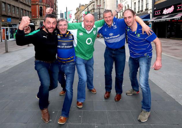 Ireland Fans in Cardiff