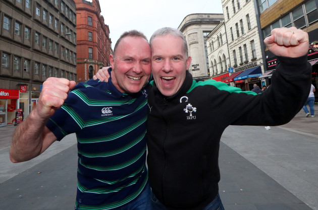 Colm Fitzpatrick, Laois and Donal Coughlan