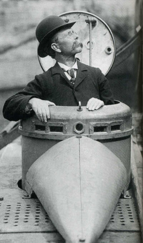 John Philip Holland from Liscannor, inventor of the modern submarine.