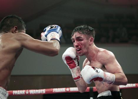 Jamie Conlan in action against Harder Cardoza