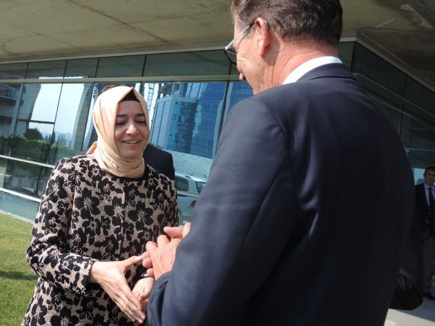 German Development Minister Mueller in Turkey