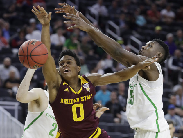P12 Arizona St Oregon Basketball