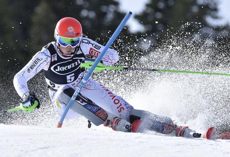 WCup Womens Slalom Skiing