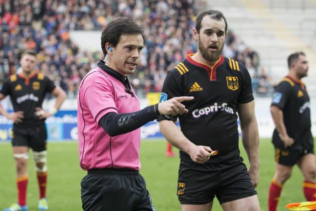 Rugby: Germany vs. Belgium