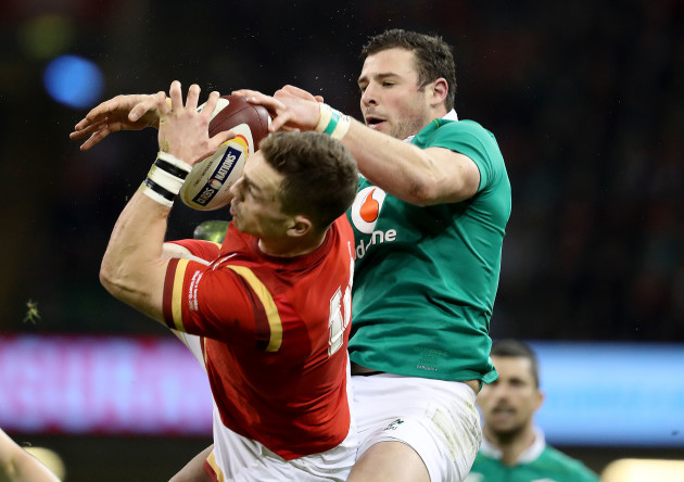 Robbie Henshaw with George North