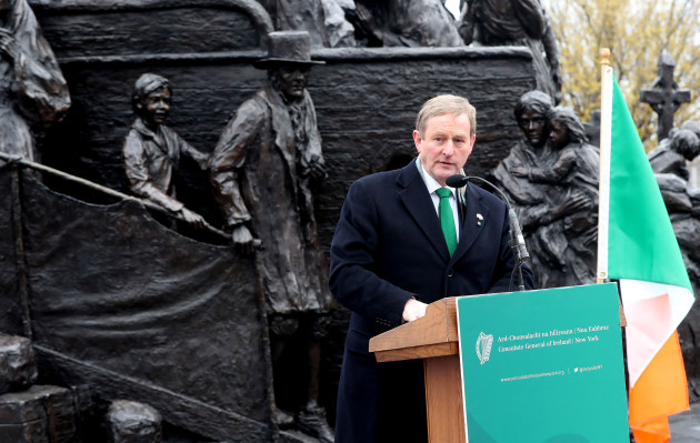 Enda Kenny visits US