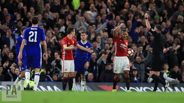 Chelsea v Manchester United - Emirates FA Cup - Quarter Final - Stamford Bridge