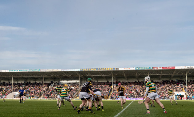 A view of the game at Semple Stadium